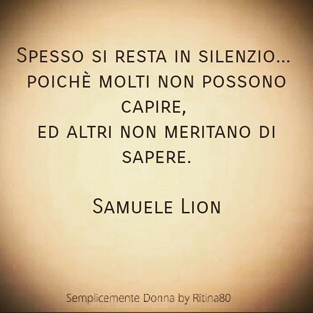 Spesso si resta in silenzio poich molti non possono - Frasi hot da dire a letto ...