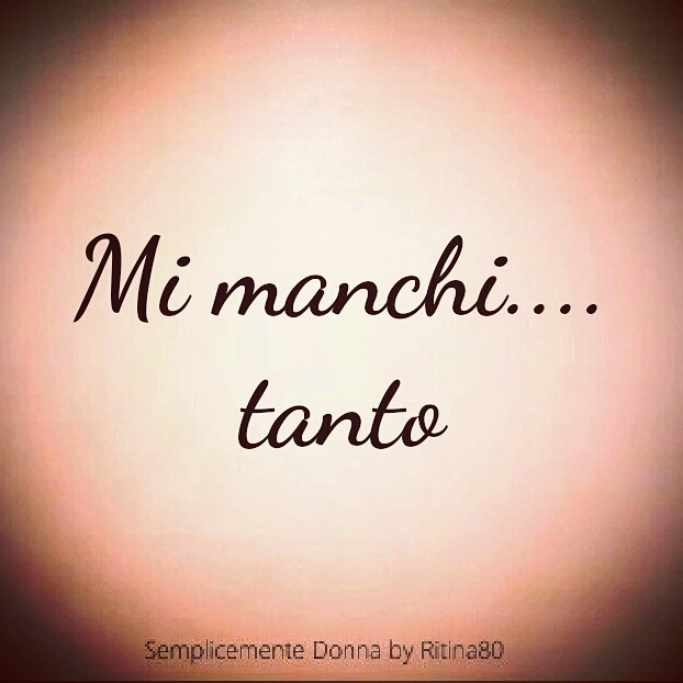 Mi Manchi Tanto Ritina80