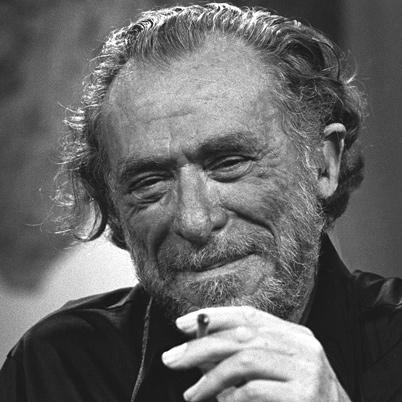 Non ho smesso di pensarti una poesia di Charles Bukowski